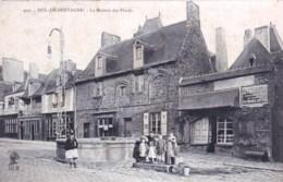 35 - Ille Et Vilaine - DOL DE BRETAGNE - La Maison Des Plaids ( Animée ) - Dol De Bretagne
