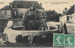 SAINT ANDRE EN MORVAN La Fontaine - France
