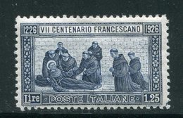 ITALIE- Y&T N°190- Neuf Sans Charnière ** - Mint/hinged
