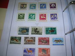 Jugoslavia PO 1960 Animali  Scott.572/580+See Scan On Scott.Page; - Nuevos
