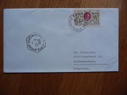 (us) Schiffpost Shipmail PORTE AVIONS ARROMANCHES 1969 FRANCE - Boten