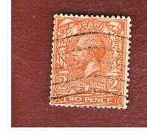 GRAN BRETAGNA (UNITED KINGDOM) -  SG 421  - 1912 KING GEORGE V 2    - USED° - Usati