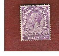 GRAN BRETAGNA (UNITED KINGDOM) -  SG 376  - 1912 KING GEORGE V 3   - USED° - Usati