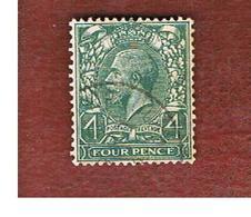 GRAN BRETAGNA (UNITED KINGDOM) -  SG 424  - 1912 KING GEORGE V 4   - USED° - Usati