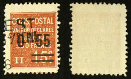 COLIS POSTAUX N° 58 Oblit Cote 5€ - Colis Postaux