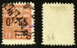 COLIS POSTAUX N° 59 Oblit Cote 5€ - Used