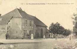 LA VILLENEUVE AU CHENE  Route Nationale Hotel De La Boule D'Or - Frankreich