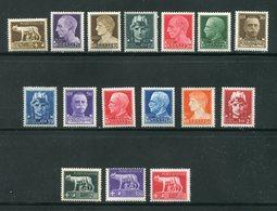 ITALIE- Y&T N°224 à 239- Neufs Avec Charnière * - 1900-44 Vittorio Emanuele III