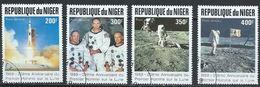 Niger YT PA 358-361 Oblitéré Espace Space - Niger (1960-...)