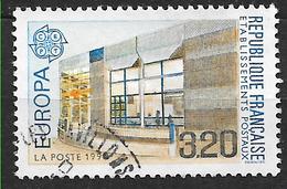 FRANCE 2643 EUROPA Bâtiments Postaux D'hier Et D'aujourd'hui Bâtiment Postal Moderne: Cerizay  . - Usati