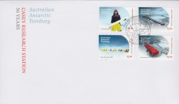 Australian Antarctic 2019 Casey Research Station 50 Years FDC - FDC