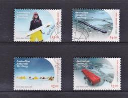 Australian Antarctic 2019 Casey Research Station 50 Years Set Of 4 Used - Australian Antarctic Territory (AAT)