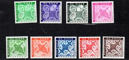 Niger YT Taxe 22-30 XX / MNH - Niger (1960-...)