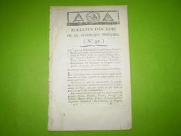 Juillet 1794 Lois An 2: Guillotine Pour Général Lavalette,Boulanger,Robespierre,Couthon,Lebas,Dumas... Dans La Journée. - Decreti & Leggi