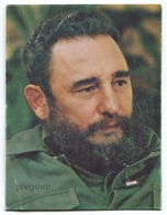 Pocket Calendar Almanaque De Bolsillo Foto Fidel Castro Radio Habana Cuba 1988 - Calendriers