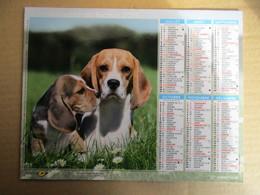 Almanach Du Facteur 2019 / Calendrier La Poste /  Chiens - Yorksire Terrier - Beagle - Grand Format : 2001-...