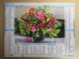 Almanach Du Facteur 2019 / Calendrier La Poste /  Fleurs - Grand Format : 2001-...