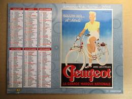 Almanach Du Facteur 2019 / Calendrier La Poste /  Ancienne Pub - Citroen - Peugeot - Rétro - Grand Format : 2001-...