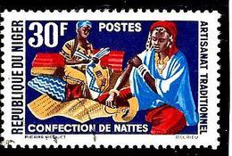 NIGER 126° 30f Artisanat Traditionnel Confection De Nattes (10% De La Cote + 0,15) - Niger (1960-...)