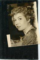 Photo Originale De Presse  La Vedette De La Chanson  JACQUELINE FRANCOIS  En 1962 - Persone Identificate