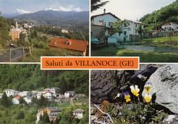 9393-SALUTI DA VILLANOCE(GENOVA)-FG - Saluti Da.../ Gruss Aus...