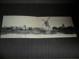 Knocke  Knokke  Dubbele Panoramakaart   Vue Générale  Th. Van Den Heuvel N° 44 - Knokke