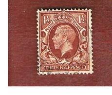 GRAN BRETAGNA (UNITED KINGDOM) -  SG 441  - 1934 KING GEORGE V 1 1/2     - USED° - Usati