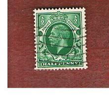 GRAN BRETAGNA (UNITED KINGDOM) -  SG 439  - 1934 KING GEORGE V  1/2     - USED° - Usati