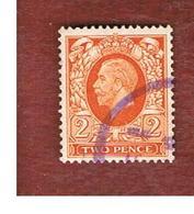 GRAN BRETAGNA (UNITED KINGDOM) -  SG 442  - 1935 KING GEORGE V  2     - USED° - Usati