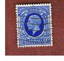 GRAN BRETAGNA (UNITED KINGDOM) -  SG 443  - 1935 KING GEORGE V  2  1/2    - USED° - Usati