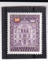Liechtenstein, Dienst Nr. 69** (T 11201) - Oficial