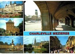 LOT N°1338 - LOT DE 24 CARTES DE CHARLEVILLE-MEZIERES DONT UNE CARTE DOUBLE DERNIER SCAN - Charleville