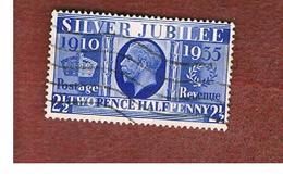 GRAN BRETAGNA (UNITED KINGDOM) -  SG 456  - 1935 SILVER JUBILEE  2  1/2   - USED° - Usati