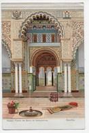 Sevilla - Alcazar - Puerta Del Salon De Embajadores - Stengel 29567 -  Dorso Sin Dividir - Sevilla