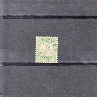 Baviere  Allemagne 1876-78   3p Vert-jaune      Oblitere    SANS CHARNIERE - Bavière