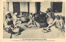 Capucins Français Aux Indes - Mission Du Sacré-Coeur Au Rajputana (Inde) - La Préparation Des Hosties Par Les Baïs - Missionen