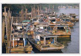 1 AK Malaysia * Fishing Boats Of The East Coast Of Mersing River * - Malaysia