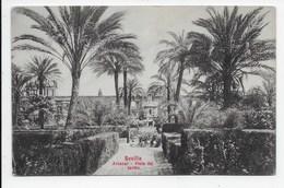 Sevilla - Alcazar - Vista Del Jardin - Sevilla