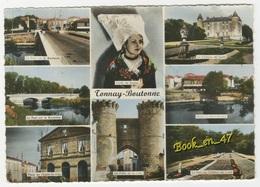 {72462} 17 Charente Maritime Tonnay Boutonne , Multivues ; Pont Sur La Boutonne , Place De L' Hôtel De Ville , Château - Autres Communes