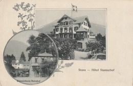 Stans - Hptel Stanserhof - Stanserhorn Bahnhof - NW Nidwald