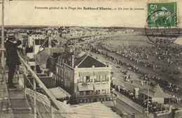 Panorama General De La Plage Des Sables D' Olonne Un Jour De Courses Grand Bazar  RV - Sables D'Olonne