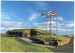 Faroe Islands Postcard The Nordic House Tórshavn Unused - Féroé (Iles)