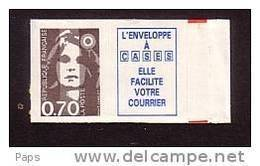 1993.N°5a MARIANNE DU BICENTENAIRE.N°2824a - Adhésifs (autocollants)