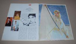 Article De Presse De 1965 Sur Modesty Blaise, La Bande Dessinée Arrive. Sur 4 Pages - Livres, BD, Revues