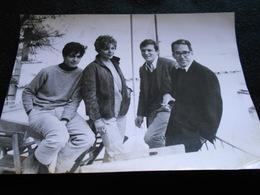 Photo Originale AGIP Robert Cohen - Film Italien Dino Mele Françoise Provost Umberto Orsini , Griffi à Capri En 1962 KX - Personalidades Famosas