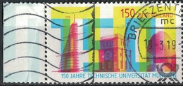 Allemagne 2018 Oblitéré Used 150ème Anniversaire Université Technique De Munich SU - [7] République Fédérale