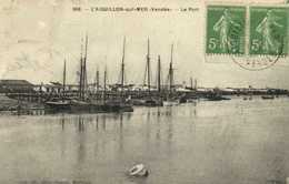 L'AIGUILLON Sur MER (Vendée) Le Port RV - Frankreich
