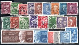 Suède / Lot De Timbres / Etats Divers - Collections
