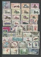 MONACO OBLITERES 1960 A1986 - Timbres