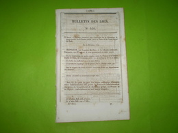 Napoléon III:Convention De Poste France Gd Duché De Bade Avec Tarifs. Soeurs La Ricamarie.Bassin De Carénage à Bordeaux - Décrets & Lois